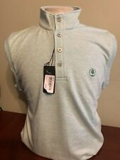 NWT Fairway & Greene Men's Medium or Large Heather Green Tech Golf Vest NEW