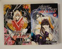 Night of the Beasts by Chika Shiomi Go! Comi English Manga Volumes 1-2