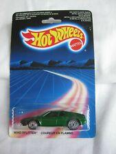 Hot Wheels 1985 DESERT carte, vent Splitter Vert variation Comme neuf en carte