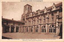THE CHAIR GOD - church Abbatial - view the court internal the cloister