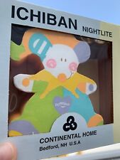 Brand New & Box Baby Nursery Teddy Bear Clown Fun Nightlight Plug in Wall ��sj3j