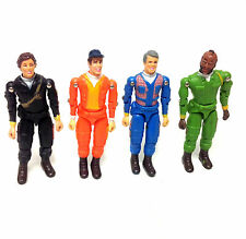 "Vintage 80's Cult TV - THE A TEAM SET OF 4  3.75"" figures by ertyl toys"