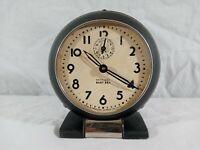 """Vintage 30's 40's Westclox Baby Ben Wind Up Metal Alarm Clock 3.5"""""""