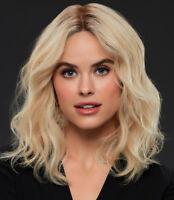 MARGOT by JON RENAU 100% Remy Human Hair Wig *ANY COLOR + CA BLONDES* Hand-Tied