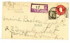 US Cover - Scott # 566 on postal envelope - Mixed Usage - REGISTERED 7/20/1925