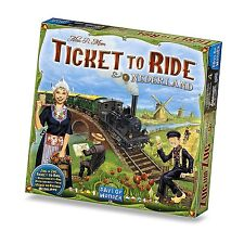 Ticket To Ride Nederland Expansion Map Collection #4 Game DOW DO7220 Netherlands