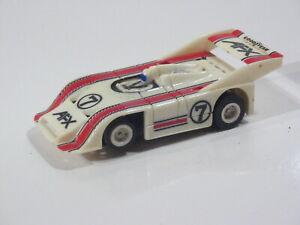 Aurora AFX Tomy Porsche 917 white with red black #7