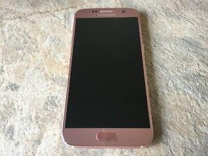 Samsung Galaxy S7 SM-G930F - 32GB - Rose Gold (Unlocked) Smartphone