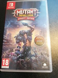 Mutant Football League Switch Used