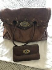 Mulberry Rare Limited Edition Bayswater Bag With Matching Purse