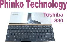 Keyboard for TOSHIBA L830/01P PSK84A-01P00T Black US layout #49