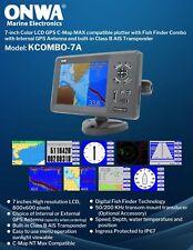 GPS Chart plotter/Fish Finder w/Class B transponder  Kcombo7A