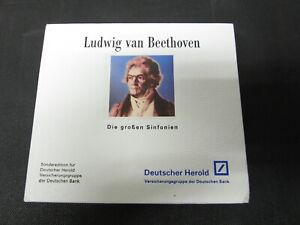 CD BOX SONDEREDITION LUDWIG VAN BEETHOVEN DIE GROSSEN SINFONIEN
