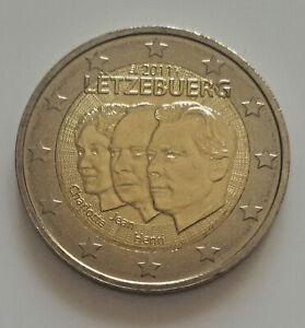 Luxembourg 2011 Lieutenant Jean pièce de 2 euro commémorative neuve