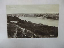 VINTAGE POSTCARD TOWN VIEW OF CALGARY ALTA CANADA 1912
