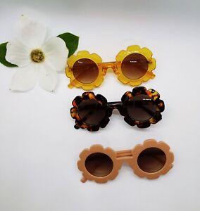 Kids Sunglasses for Girls & Boys Outdoor UV400  Flower Shade Goggles US