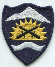 US Army Oregon National Guard Command ARNG Color patch m/e Type II