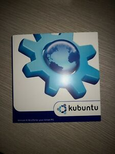 Original Kubuntu 6.06 LTS 64-Bit PC Linux Install CD