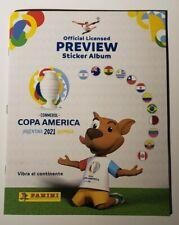 PANINI COPA AMERICA 2021 PREVIEW SOFTCOVER ALBUM EMPTY