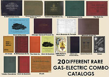 New listing Gas Combo Antique Catalogs Light Sconce Lamp Chandelier Vance Gibson Williamson