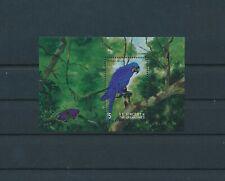 LM39220 St Vincent parrot animals birds good sheet MNH