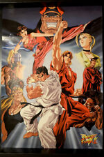 STREET FIGHTER II - THE ANIMATED MOVIE  JP VINTAGE POSTER  73x51,5cm 4499 CAPCOM
