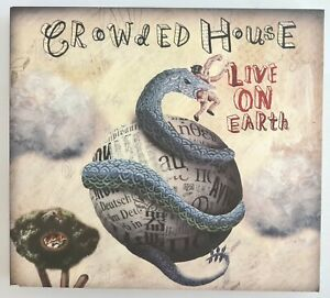 ~ CROWDED HOUSE - Live On Earth UK Tour 2007 - Manchester MEN 29/11/07 - 2CD Set