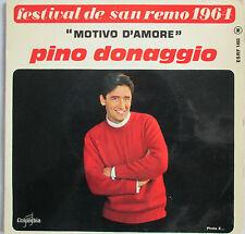 """PINO DONAGGIO - RARE FRANCE EP """"MOTIVO D'AMORE"""""""