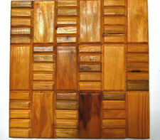 Wall Tiles, Wood Tile For Wall, Wall Panelling, Wall Decor, Wooden, 3D Wall Art