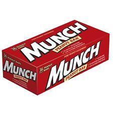 MUNCH Peanut Bar Singles Size 1.42-Ounce Bar, 36 Count Box