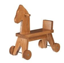 Toddler Ride On Horse - Amish Handcrafted Wood Walker Toy - Handmade in the Usa