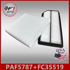 PAF5787 FC35519 PREMIUM ENGINE & CABIN AIR FILTER for 2007-08 ACURA TL 3.2 & 3.5