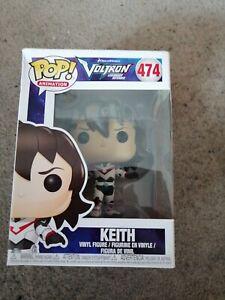 Voltron Legendary Defender Funko Pop Vinyl 474 Keith