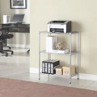 New Baker Rack Shelf Shelving Kitchen Cart 3 Tier Microwave Oven Stand Storage