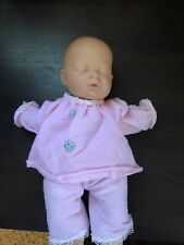 Vintage Berjusa Dial. 12 Inches Cloth Body. Sl 00004000 eeping Infant
