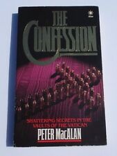 The Confession by Peter MacAlan (Paperback, 1986) Shattering Secrets in the Vaul
