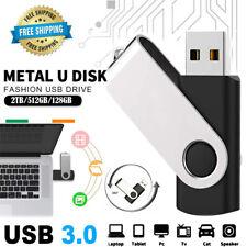 2TB 512GB USB Flash Drive Thumb U Disk Memory Stick Pen PC Laptop Storage 32GB