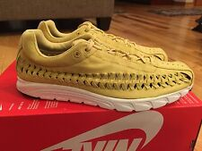 Nike Mayfly Woven Celery Black Summit White 833132-301 Men's Size 9.5 RARE COLOR