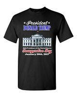 Donald Trump White House Inauguration Day 45th President Adult DT T-Shirt Tee