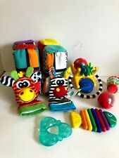 Lot of 6 Fisher Price Playgro Baby Einstein Other Assorted Infant Baby Toys
