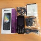 BRAND NEW PHONE Archos F24 Unlocked Mobile Phone - DUAL-SIM - Black - Warranty