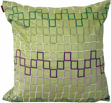 MISSONI  HOME LIMITED EDITION KAMERON 651 100% COTTON EMBROIDERED PILLOW COVER