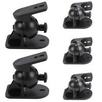 5 Surround sound speaker brackets Wall mount for Bose - Set of 5 black brackets