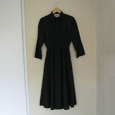 Solid Shirt Dresses