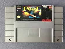Championship Pool SNES Super Nintendo Game Cartridge