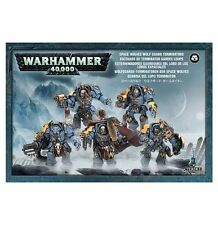 Space Wolves Wolf Guard Terminators. Warhammer 40k. 20% OFF UK RRP.