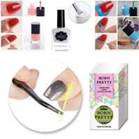 BORN PRETTY Nail Art Peel Off Base Coat Liquid Tape Latex Remover  Tips