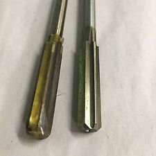 """CHUCKING REAMERS, LOT OF 2, SIZE """"Y"""" - .4040  LOT K"""