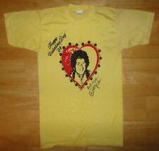 Vintage 1984 Bobby Vinton - Happy Valentines Day '84 Best Wishes Yellow Shirt