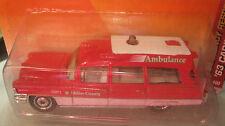MATCHBOX  unit 2 miller county  '63 CADILLAC AMBULANCE